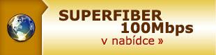 SUPERFIBER 100Mbps v nab�dce